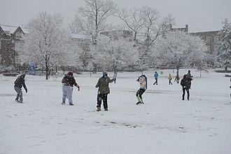 Snow dance - Image: Snow day (8474389854)