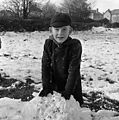 Snow scenes at Oswestry Infant School, Middleton Road, Oswestry (23821418279).jpg