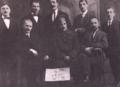 Socializmul va învinge (Cristescu and Popovici with Bulgarian officer, 1917).png