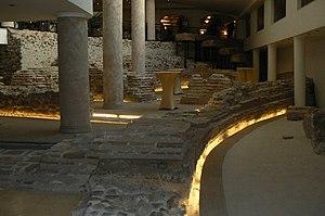 Amphitheatre of Serdica - Image: Sofia amphitheatre remnants 1