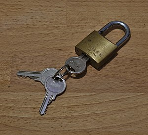 Lock and key - Wikipedia