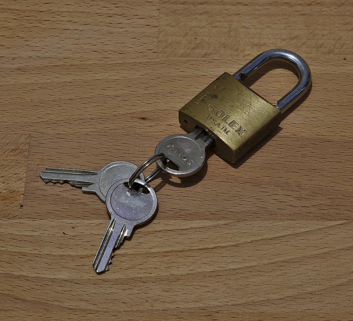 Lock and key - Wikipedia