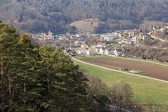 Solnhofen - View on Solhofen