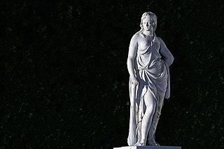 Sculptures in the Schönbrunn Garden