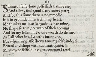 Sonnet 62 poem by William Shakespeare