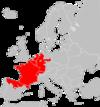 Sorex coronatus range Map