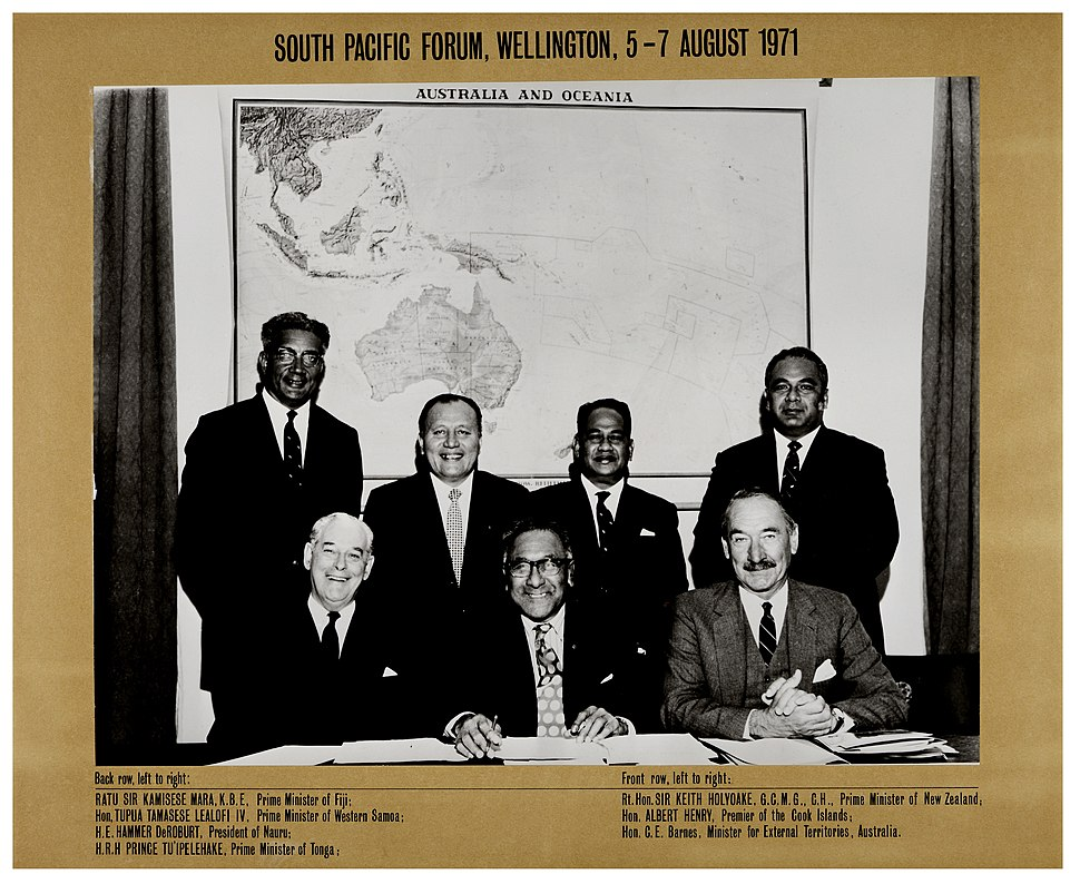 South Pacific Forum, August 5, 1971, Wellington (19969820699)