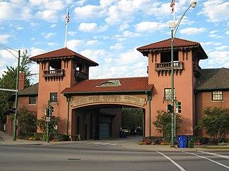 South Shore Cultural Center - Image: South Shore Cultural Center Gate