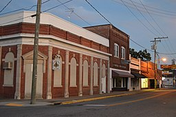 South from the railroad, Main Street in Boykins.jpg