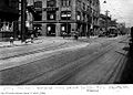 Southbound Birney streetcar, on Church, about to turn west onto Richmond, 1923 08 31.jpg