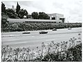 Southern Motorway with Auckland Grammar School new extension.jpg