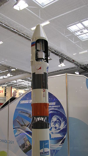 Soyuz-2-1v - Image: Soyuz 2.1 (Союз 2.1в) Paris Air Show 2011 take 3