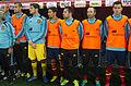 Spain - Chile - 10-09-2013 - Geneva - Mario Suarez, Iker Casillas, Jesus Navas, Jordi Alba, Andres Iniesta and Nacho.jpg