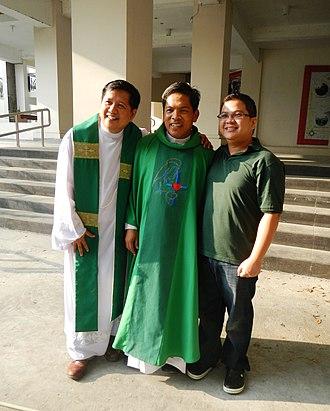 Fernando Suarez - Fr. Fernando Suarez, Santuario de San Vicente de Paul.