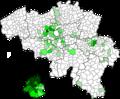 Spreiding Congolese buitenlanders in België (2017).png