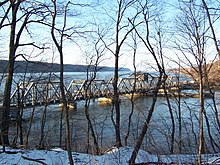 Spuyten Duyvil Swing Bridge from Inwood, Manhattan.jpg