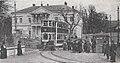 Städtische Straßenbahnen Wien 1903–1913 (page 74 crop) – Decksitzwagen in der Gleisschleife in Hütteldorf 1913.jpg