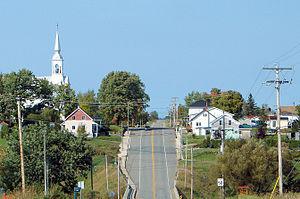 Saint-Eugène-de-Guigues, Quebec - Image: St Eugene de Guigues QC