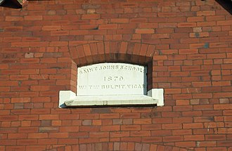 Crossens - Image: St John's School Crossens foundation