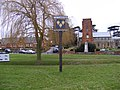 St.Marys Church & Grundisburgh Village Sign (geograph 1127528, high-res).jpg