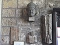 St. John Lee - mediaeval stones (foot of the tower) - geograph.org.uk - 1269339.jpg