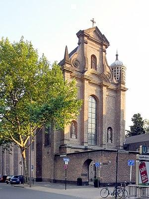 St. Maria in der Kupfergasse - North elevation of St. Maria in der Kupfergasse in 2010