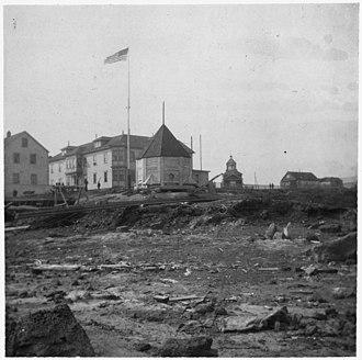 Fort St. Michael - Photo of St. Michael, 1901