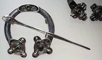 St Ninian's Isle Treasure - Pennanular brooch