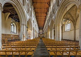 St Albans Cathedral Nave, Herfordshire, UK - Diliff.jpg