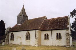 St Bartholomew's Church, Chalvington, East Sussex (Geograph Image 1595484 aa3f1496).jpg