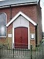 St John with St Mark Church, Sunny Avenue, Bury, Porch - geograph.org.uk - 691145.jpg