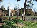 St Mary the Virgin Church, Ripple - geograph.org.uk - 328193.jpg