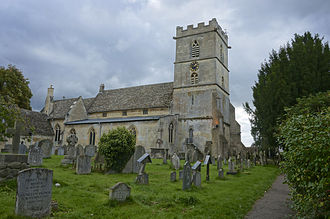 Prestbury, Gloucestershire - Image: St Marys Church Prestbury