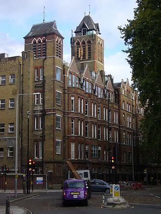 St Pancras Hospital - St Pancras Hospital