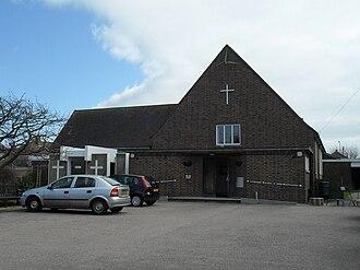 St Mary's Church, Hampden Park, Eastbourne - St Peter's Church serves the Hydneye area of Hampden Park.
