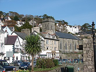 Aberdyfi - The bells of St Peter's Church can play Clychau Aberdyfi