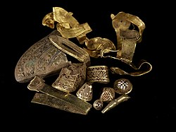 Hoard of Anglo-Saxon rings