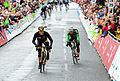 Stage Two finish sprint (17210334821).jpg