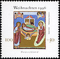 Stamp Germany 1996 Briefmarke Weihnachten II.jpg