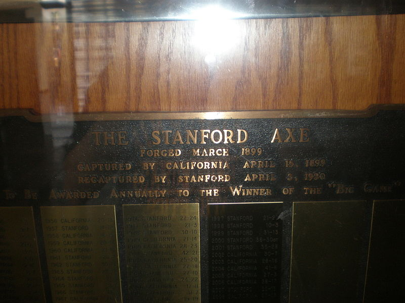 File:Stanford Axe at MLK Student Union 2009-04-18 6.JPG
