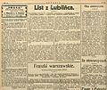 """Stanisław Krzyżowski, Słowa prawdy o ZOKZ, """"Polonia"""" z 4 III 1926, s. 4.jpg"""