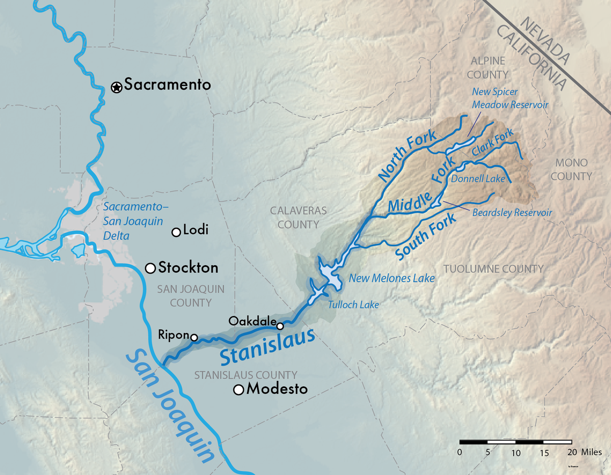 south fork stanislaus river  wikipedia -
