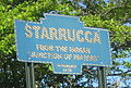 Starrucca, PA, Reproduction Keystone Marker (cropped).JPG