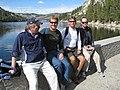 Start of a great hike - Lower Echo Lake (3072629602).jpg