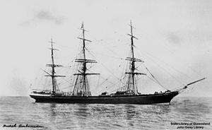 Ambassador (clipper) - Image: State Lib Qld 1 125739 British Ambassador (ship)