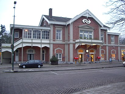 How to get to Station Baarn with public transit - About the place