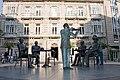 Statues in Saint Joseph square, Pontevedra.jpg