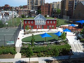 Stead Park from 1616 P Street building.jpg