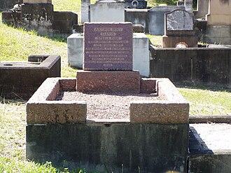 Steele Rudd - Image: Steele Rudd's grave