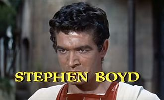 Stephen Boyd - From the trailer for the film Ben-Hur (1959).